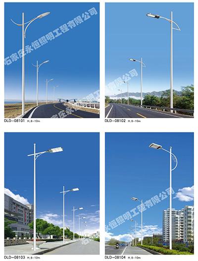乡村道路灯生产厂家如何提高太阳能灯色度