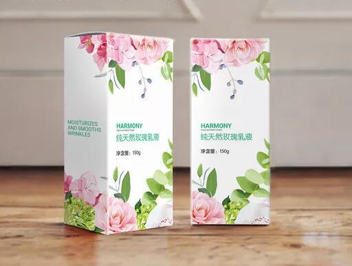 流行通用化妆品包装盒定制案例
