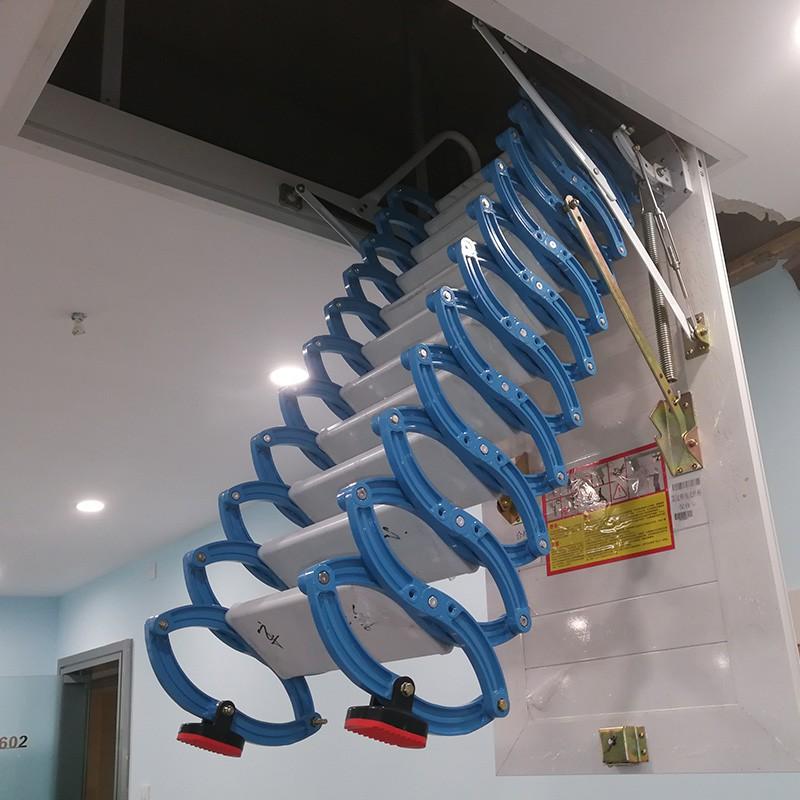 铝镁合金阁楼楼梯