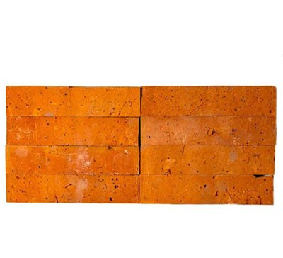 六面光红色砖片230-50-11