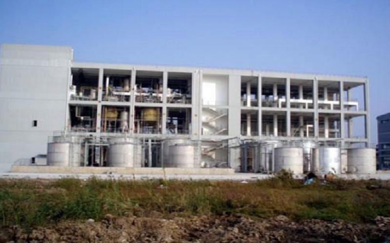 南通某公司 1500t/a 哌啶醇设备工艺管道安装