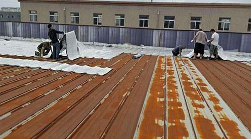 廠房屋頂滲漏維修
