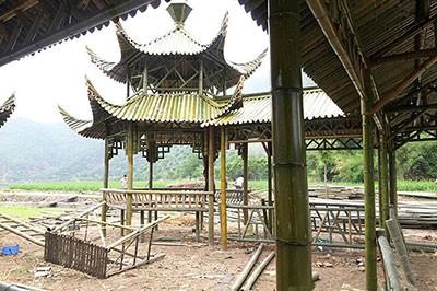 安徽竹长廊怎么建