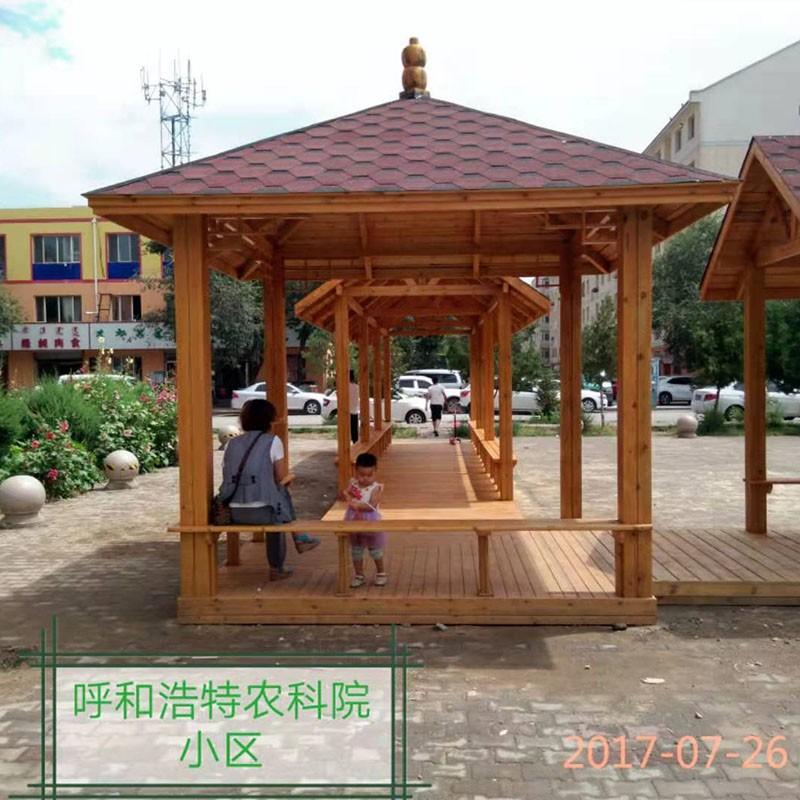 农科院防腐木工程