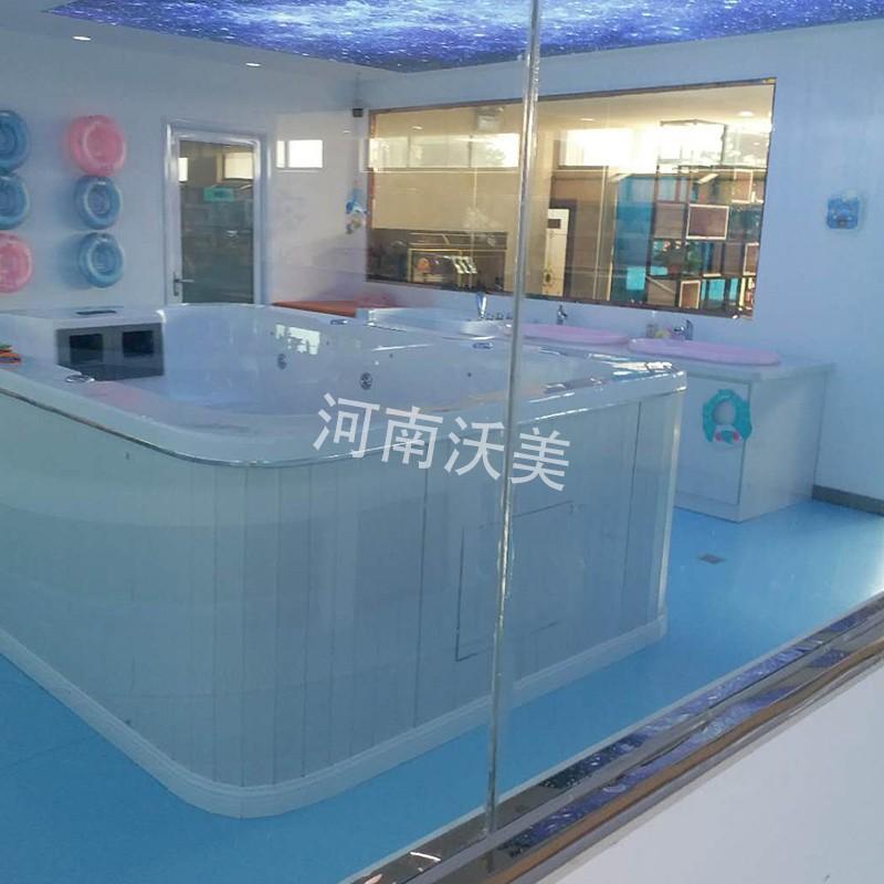 内黄小型酒店游泳池沃美泳池