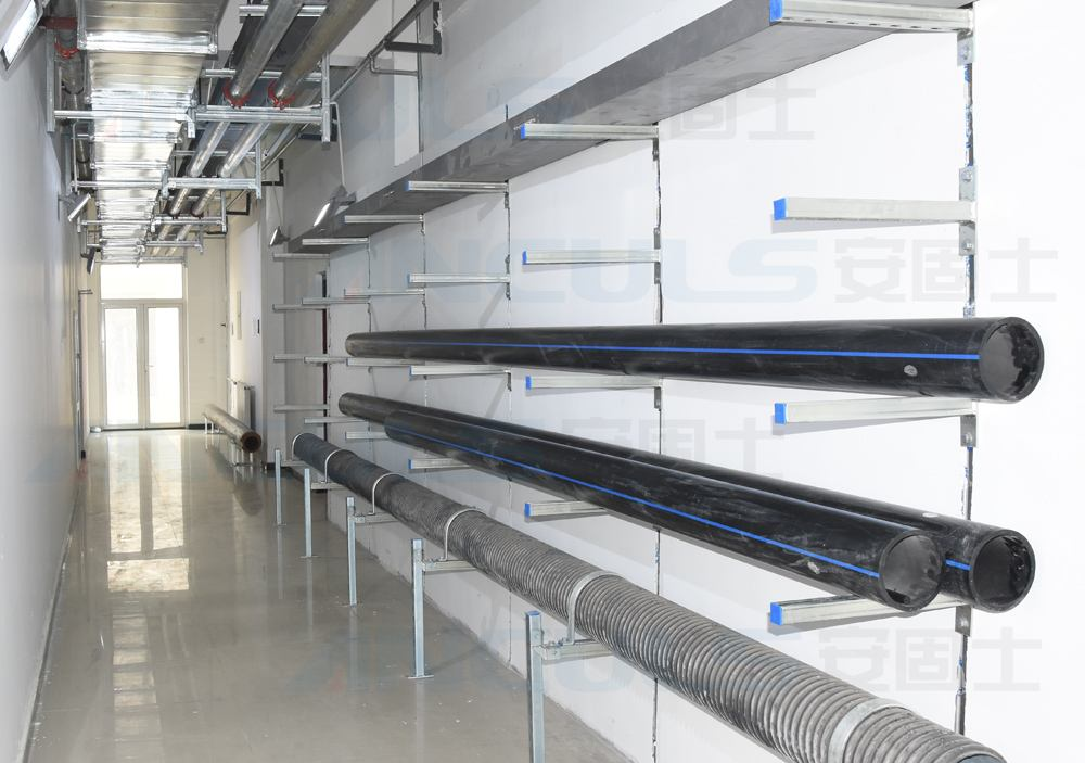 综合管廊支架专业厂家告诉你管廊支吊架的重要性