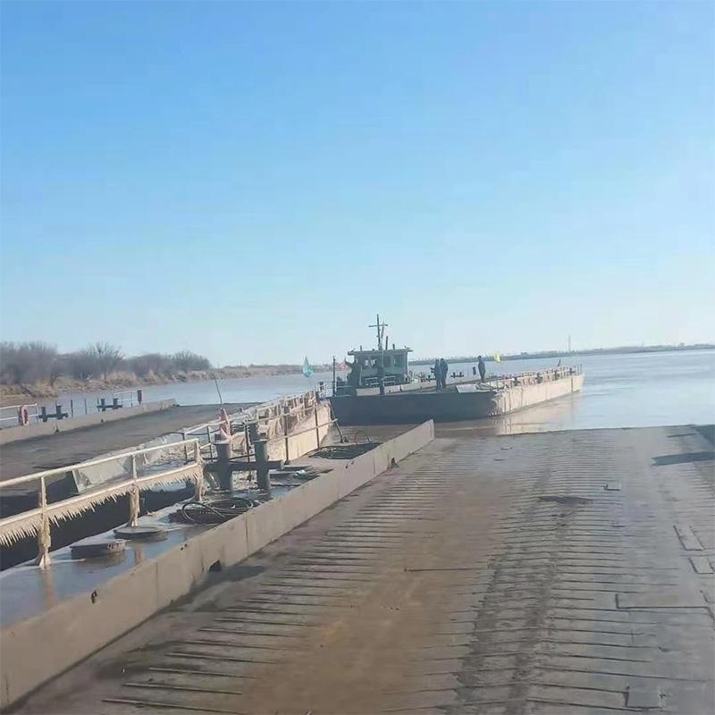 因近日持续降温,黄河包头段即将进入冬季流凌期
