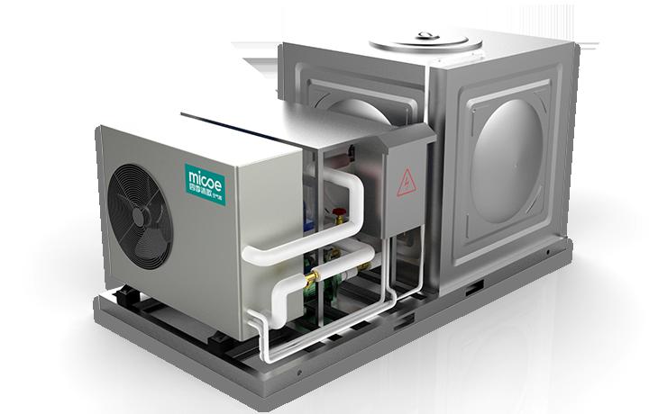 MICOE空气能商用承压系统