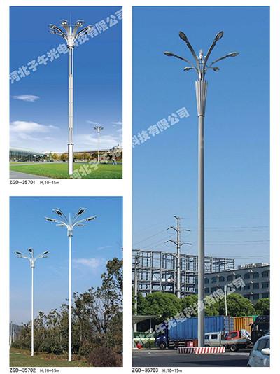 路灯杆生产厂家解释监控杆的构造和规格测算