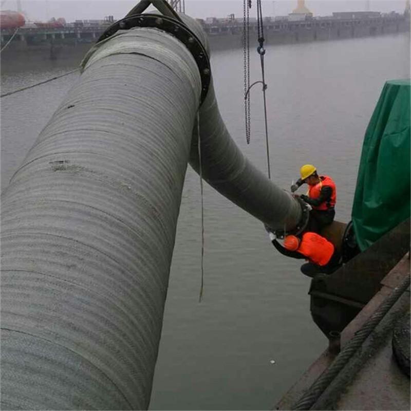 吸排水大口徑膠管案例