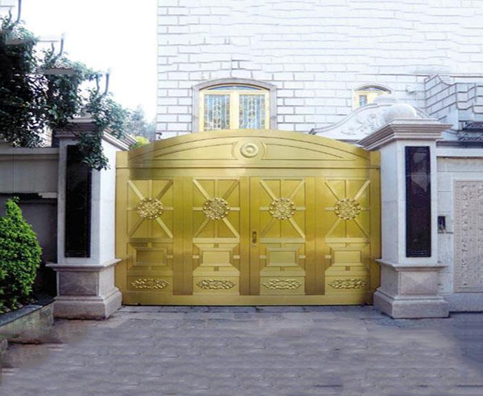 别墅铜大门