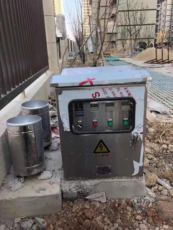 宁波北仑景瑞海绵城市雨水回收系统施工完毕