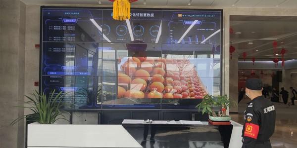 内蒙古文化馆液晶拼接屏