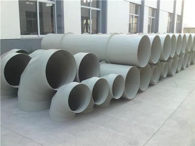 白色PP风管厂家告诉你PP风管广泛运用环保项目