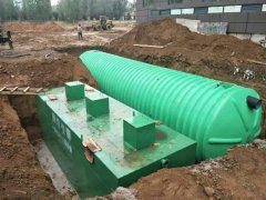 学校小区一体化污水处理设备