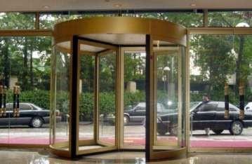 酒店旋转门的选择要注意什么