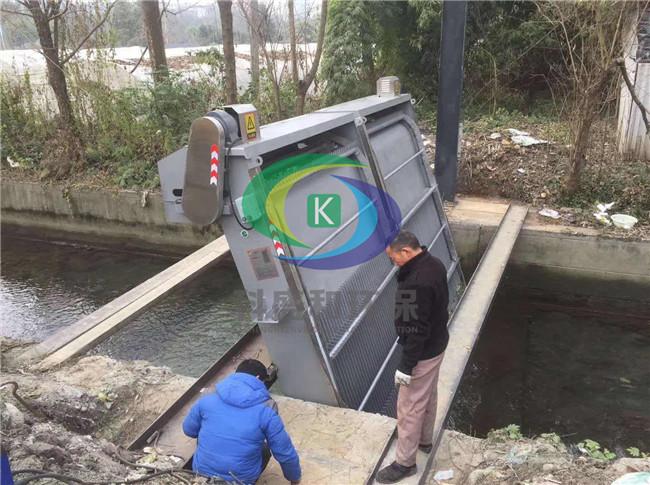 污水预处理设备江西客户的使用