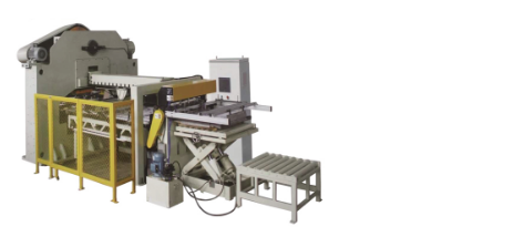 铝盖高速全自动生产线(生产能力:300-400只/分)