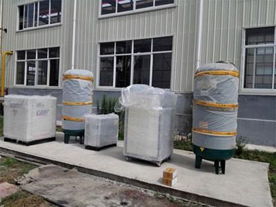 安徽滁州某铝业空压机制氮机