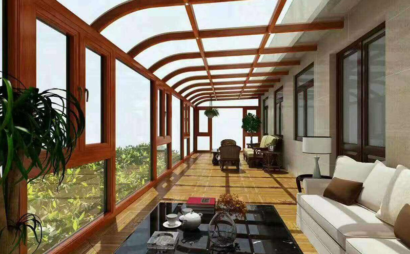 全自动遮阳系统适合玻璃阳光房