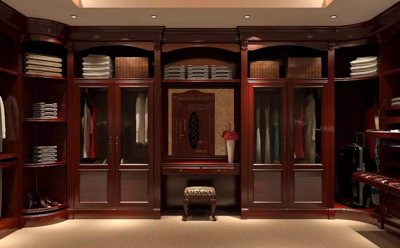 定制实木衣柜怎么计算?要多少钱一平