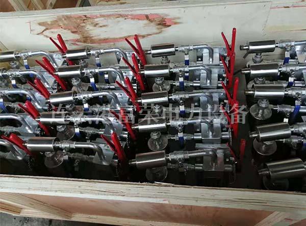 煤粉取样器装箱