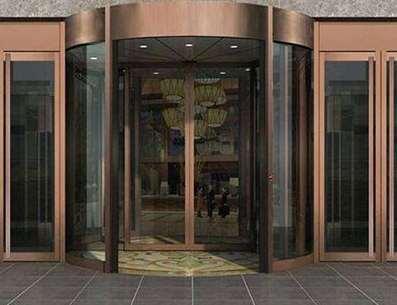 为什么酒店喜欢使用旋转门