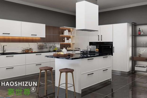 简约不锈钢整体厨房