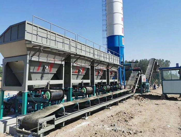 重庆南道高速600型水稳站安装调试完成