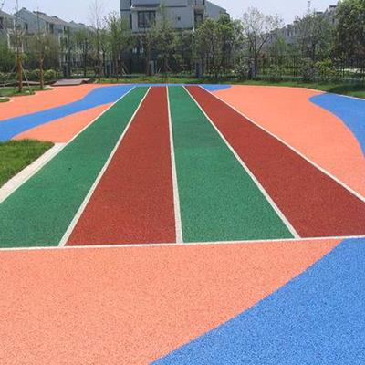 弹性球场跑道地坪