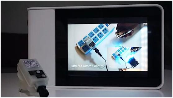 呼和浩特透明屏样品展示柜是什么样的?
