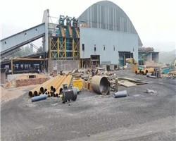 大同新荣区洗煤厂安装