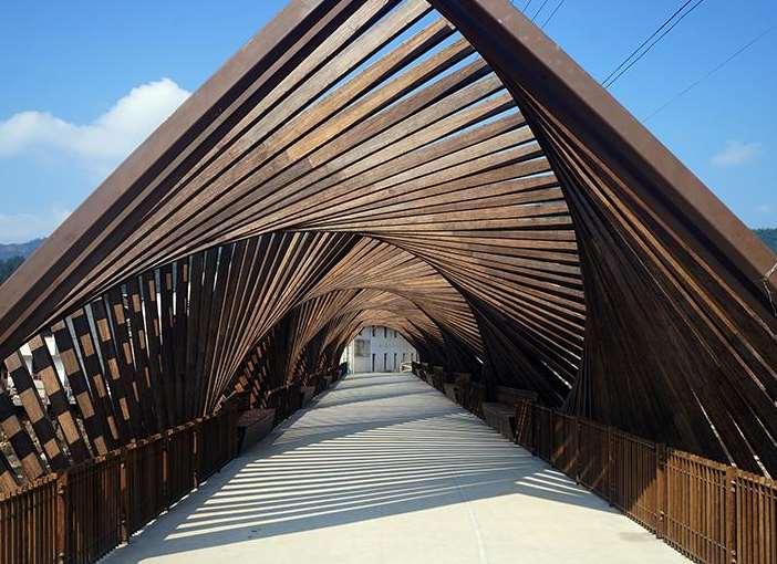 公园的竹长廊设计有什么好处