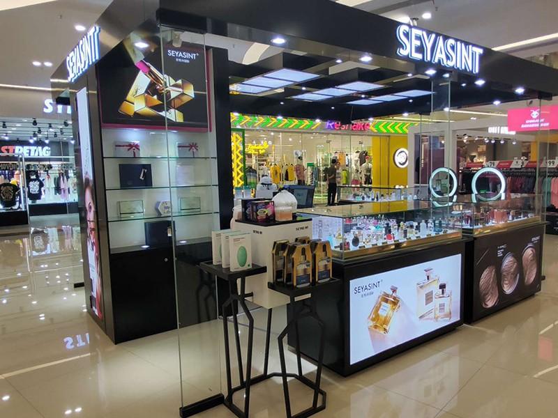 大型商場化妝品展柜