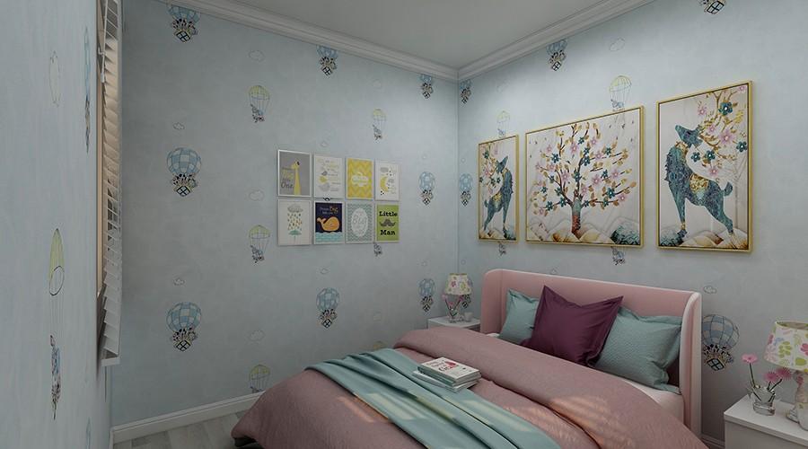 现代装修风格的卧室