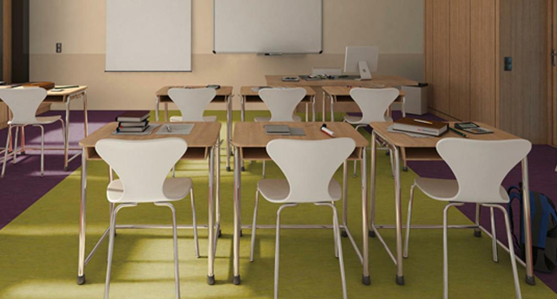 青岛pvc地板—教育系列