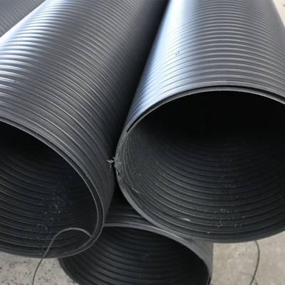 缠绕结构壁B型管的生产方式