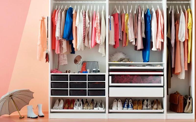 保持衣柜整洁的方法