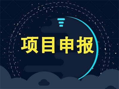 深圳项目申报