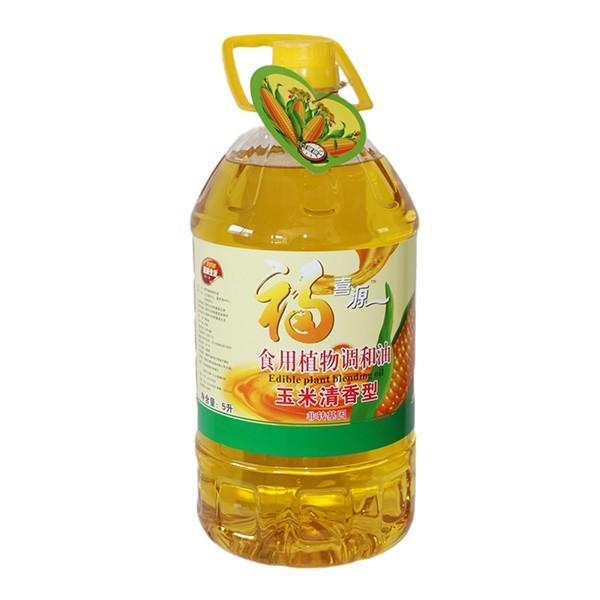 食用植物调和油玉米清香型 5L