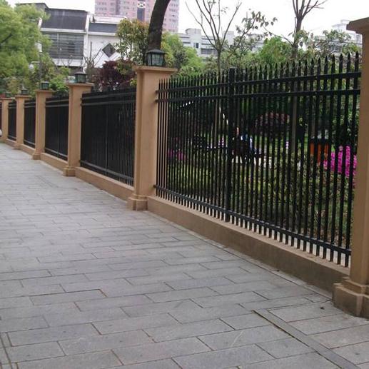 铸铁透景围栏的样式风格