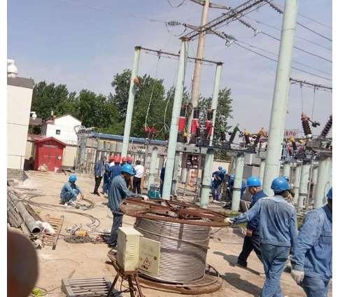 电力技术施工中的输电线路处理