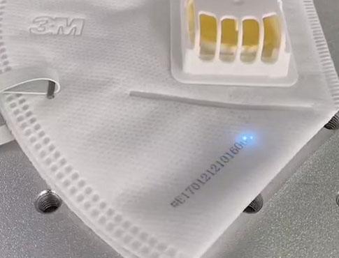 激光喷码在口罩行业的重要作用
