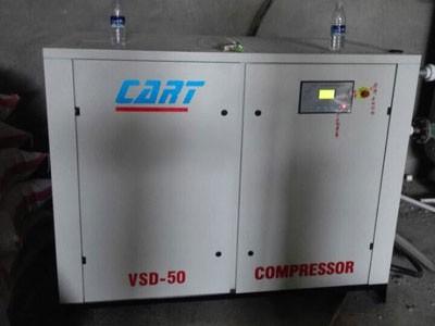 安徽蚌埠某粮食加工厂37千瓦变频空压机