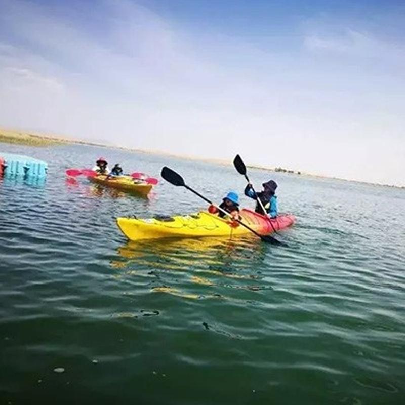 沙漠——皮划艇