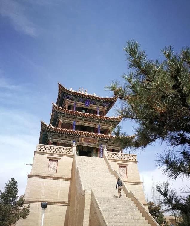 青海贵德县最美的古建筑,集儒道神为一体