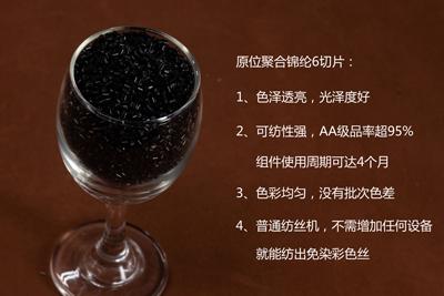 羽毛纱海阳黑原位锦纶6四大优势