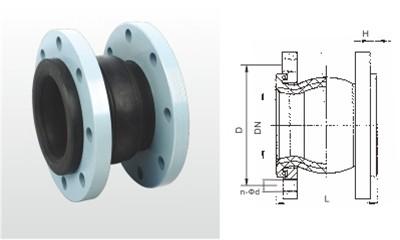 苏州埃美柯阀门-KDTF1.6X25-500 单球体橡胶挠性接管