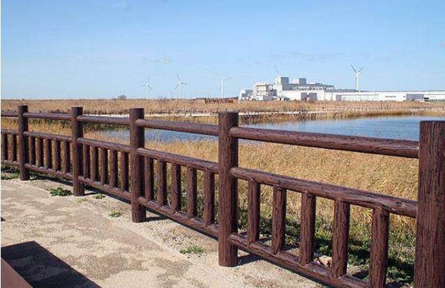 仿木护栏的制作流程