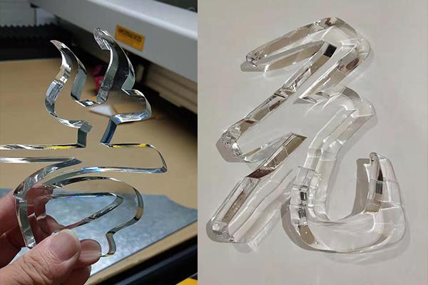 在福州亚克力发光字安装的加工过程中,有哪些地方是需要我们注意的呢?